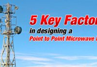 5 Key Factors in Designing a Point to Point Microwave Link