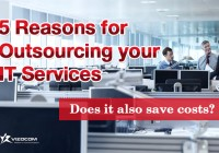 5 Reasons for Outsourcing your IT Services – Does it also save costs?