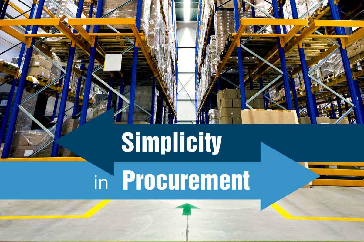 Simplicity in Procurement