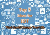 Top 5 Ideas for IOT That Could Change your Life