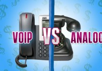 Which Telephony Solution Costs Less to Implement – VoIP or analog POTS?